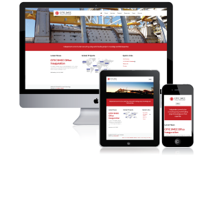 CITIC-responsive-website
